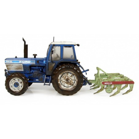 """UH 7118 Ford TW-25 with Bomford """"Superflow"""" Plough """"Still Hard At Work"""""""
