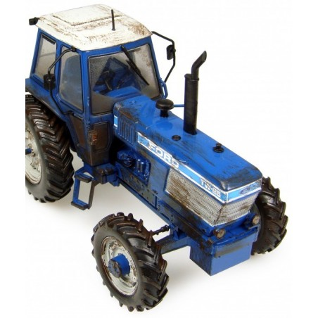 Ford TW-25 with Bomford Plough