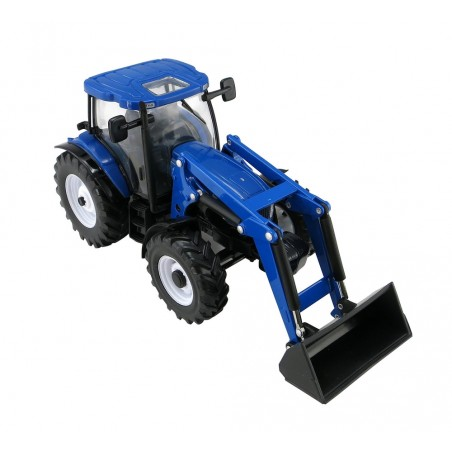 New Holland T6.180 with front loader