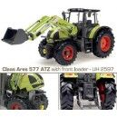 Claas Ares with frontloader