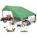 Farm Building Set with Case...