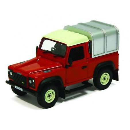 Land Rover Defender 90 Canopy - Red