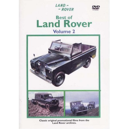Best of Land Rover volume 2 DVD