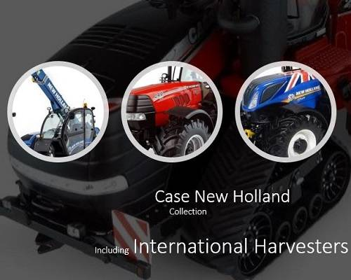 Case New Holland Farm Model Tractors