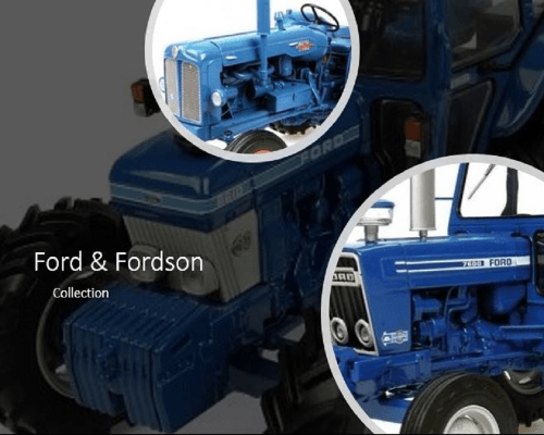 Ford and Fordson Model Tractors